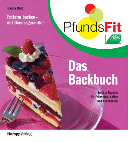 PfundsFit-Backbuch: Fettarm backen-mit Genussga...