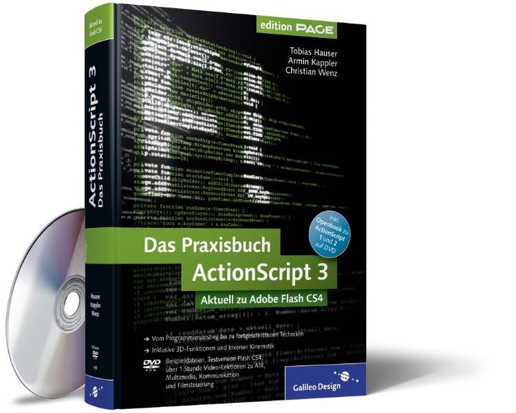 Das Praxisbuch ActionScript 3: Aktuell zu Adobe...