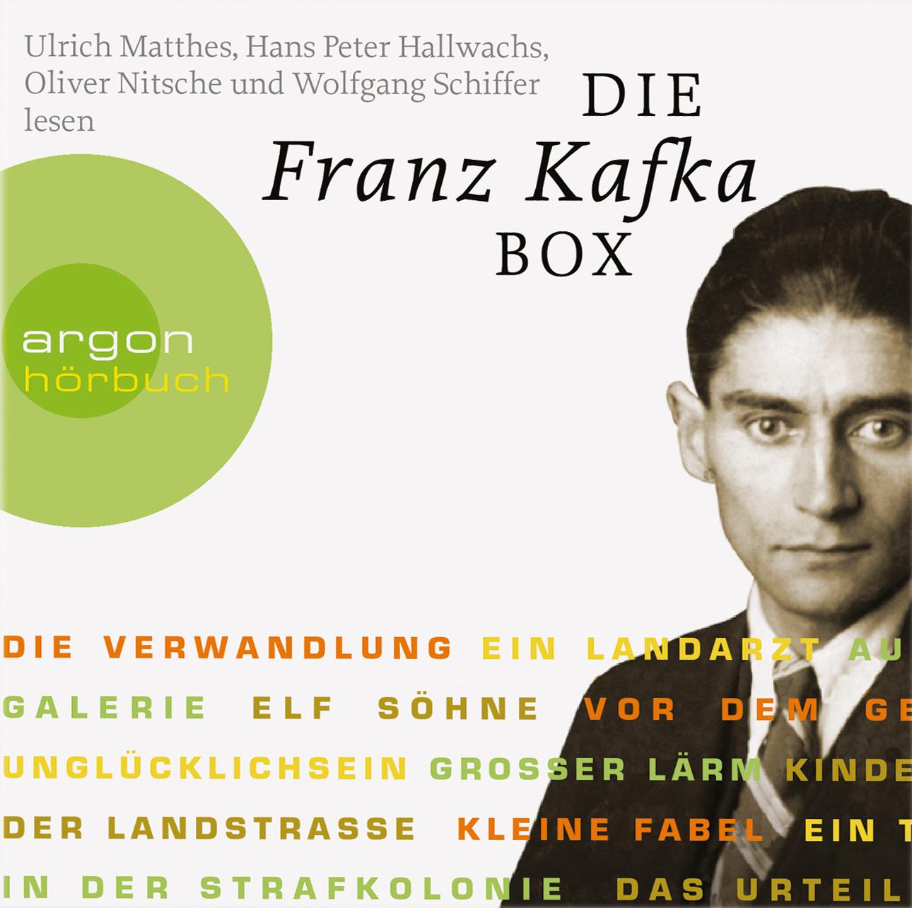 Die Franz Kafka Box: Die Verwandlung / Das Urteil / In der Strafkolonie / Ein Landarzt / Auf der Galerie u.a - Franz Kaf