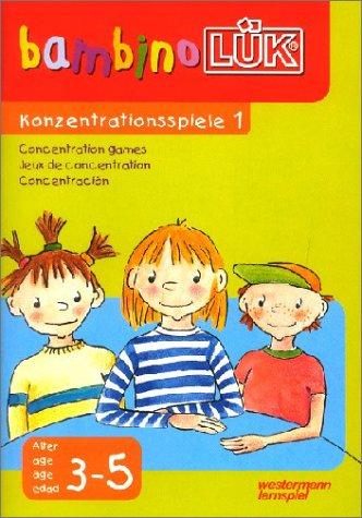 bambino LÜK-System: LÜK. Bambino. Konzentrationsspiele 1: Für Kinder ab 3 J - Ute Ohlms