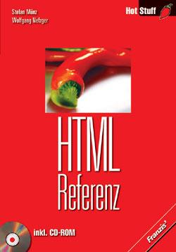 HTML-Referenz, m. CD-ROM - Stefan Münz