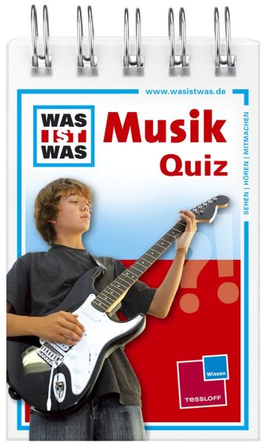 Was ist Was Quizblock: Musik - 120 Fragen und Antworten
