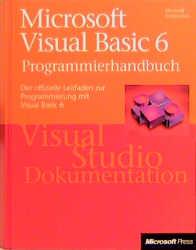 Microsoft Visual Basic 6.0 Programmierhandbuch....