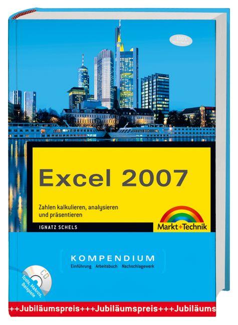 Excel 2007 Kompendium mit CD-ROM mit besonders ...