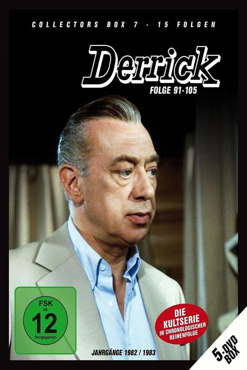Derrick - Collector´s Box Vol. 7 (Folge 91-105) (5 DVDs)