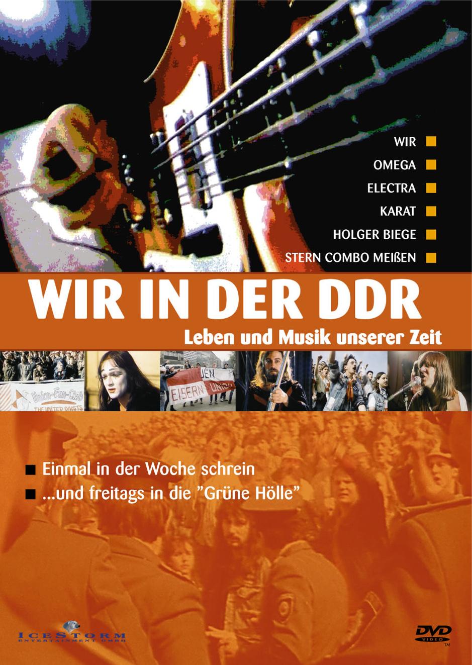 Wir in der DDR - Leben und Musik in unserer Zeit