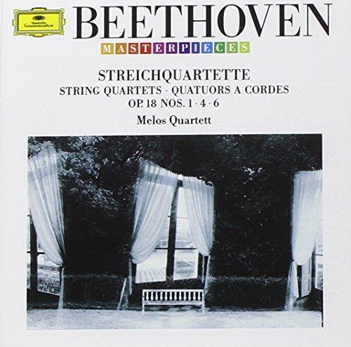 Melos-Quartett Stuttgart - Streichquartette 1/4/6