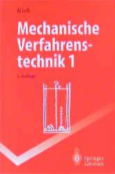 Mechanische Verfahrenstechnik 1 (Springer-Lehrb...