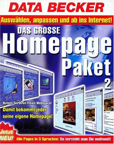 Das große Homepagepaket 2.0. CD- ROM für Window...