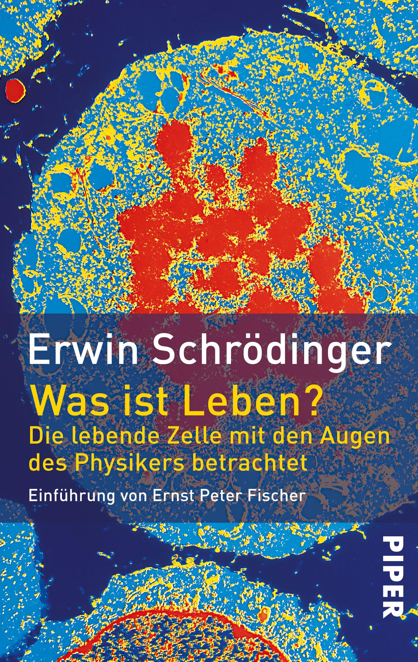Was ist Leben?: Die lebende Zelle mit den Augen des Physikers betrachtet - Erwin Schrödinger