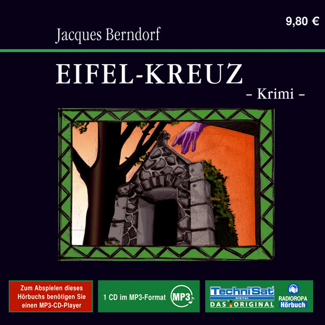 Eifel-Kreuz (1 MP3 CD) - Jacques Berndorf