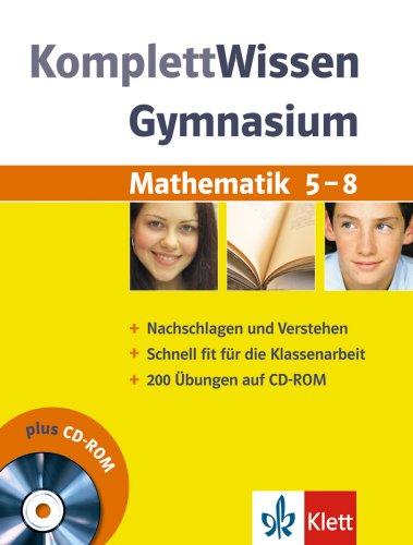 Komplett-Wissen Gymnasium. Mathematik 5. - 8. S...