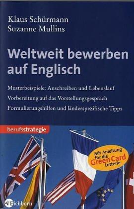Weltweit bewerben auf Englisch - Klaus Schürmann