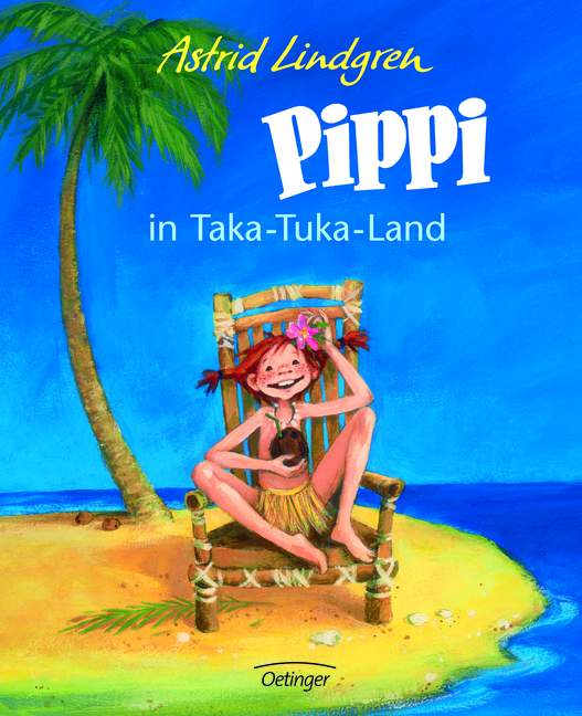 Pippi in Taka-Tuka-Land (farbig) - Astrid Lindgren
