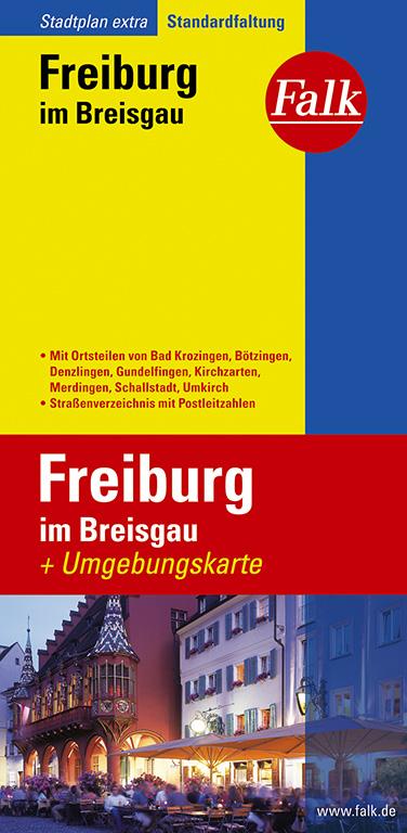 Falk Stadtplan Extra Standardfaltung Freiburg i...