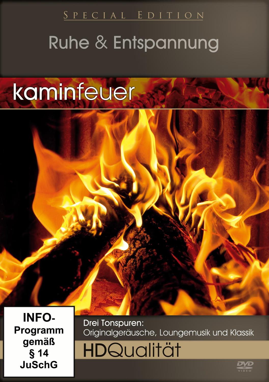 Kaminfeuer - Ruhe & Entspannung (HD Qualität)