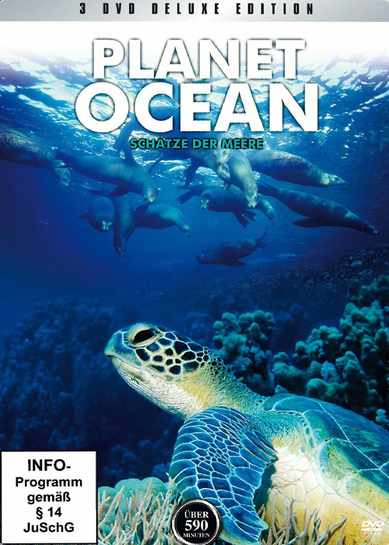 Planet Ocean 3 - Schätze der Meere (3DVD-Metall-Box Deluxe Edition)