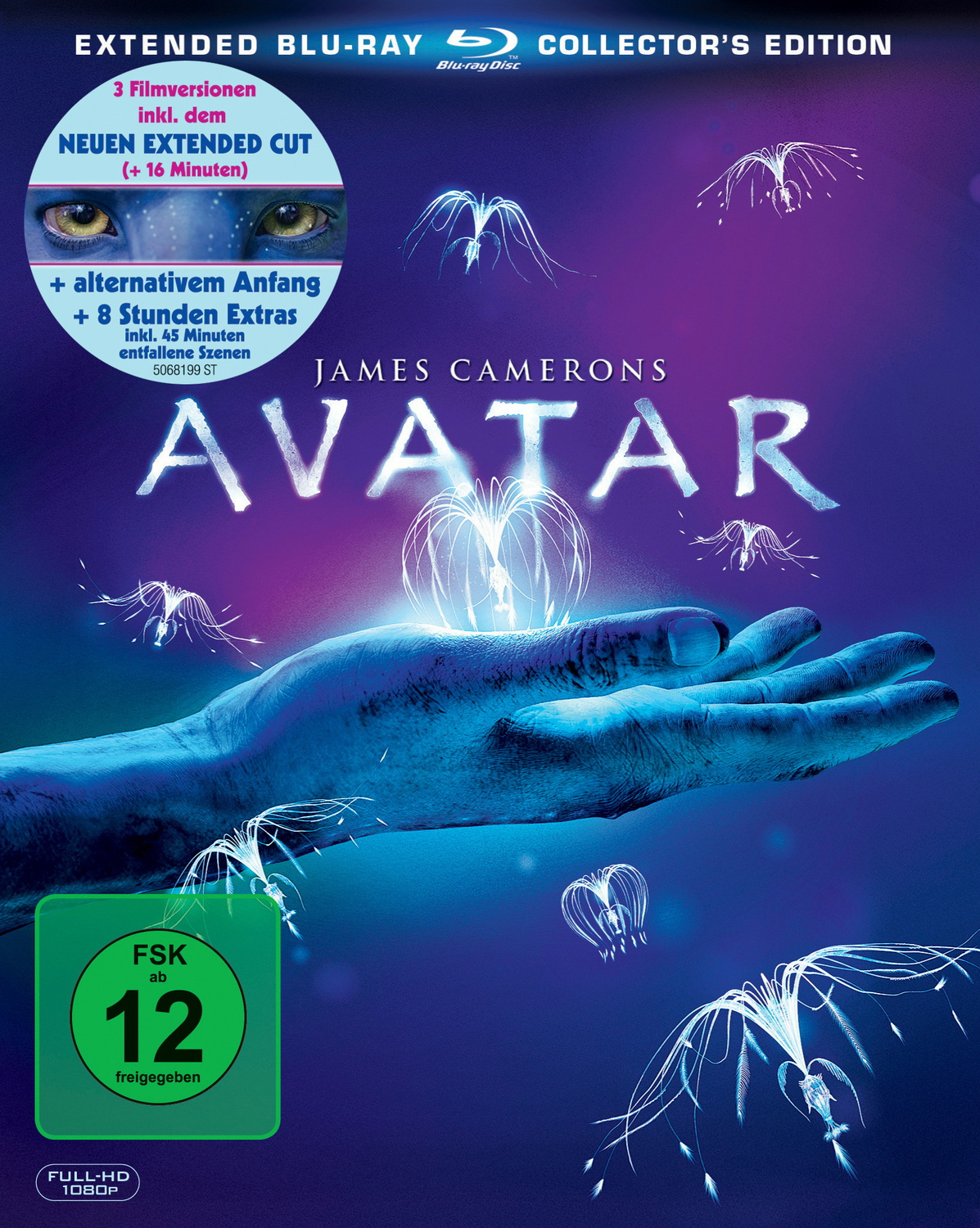 James Camerons Avatar [Extended Collector´s Edition, 3 Blu-rays]
