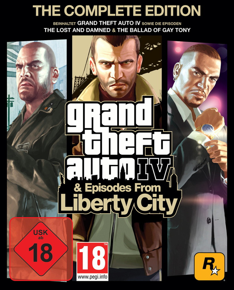 Grand Theft Auto IV & Episodes from Liberty Cit...