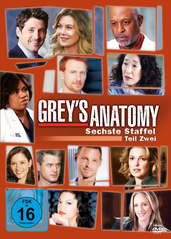 Grey´s Anatomy - Staffel 6 - Teil 2 [3 DVDs]