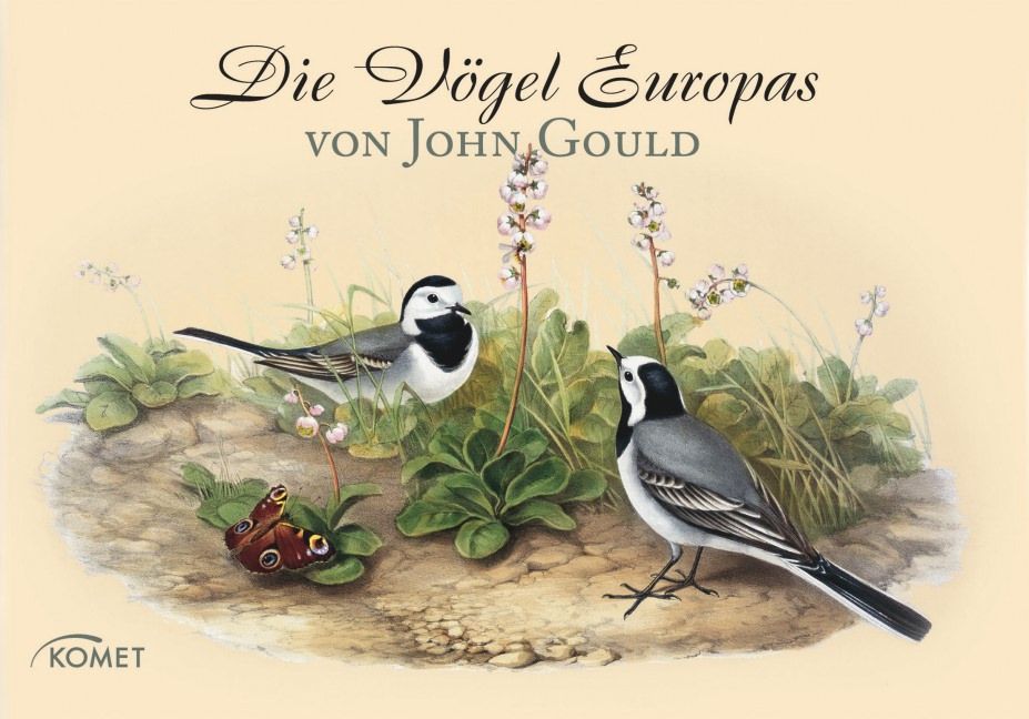 John Gould - Die Vögel Europas - Francis Roux