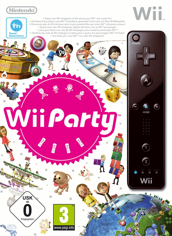 Wii Party inkl. Remote black [limitierte Version]