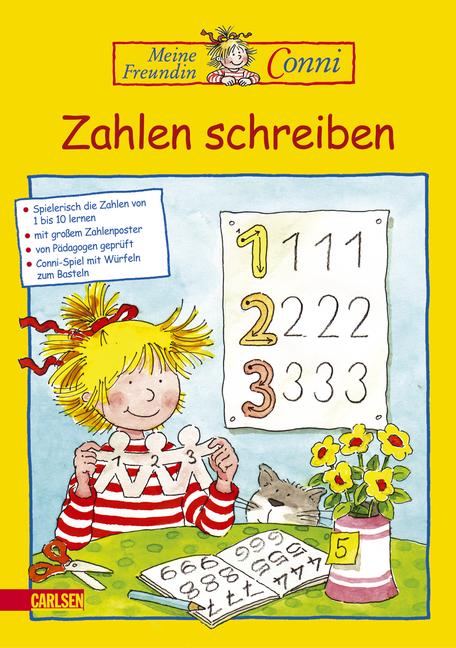 Conni Gelbe Reihe: Zahlen schreiben: Neuauflage...