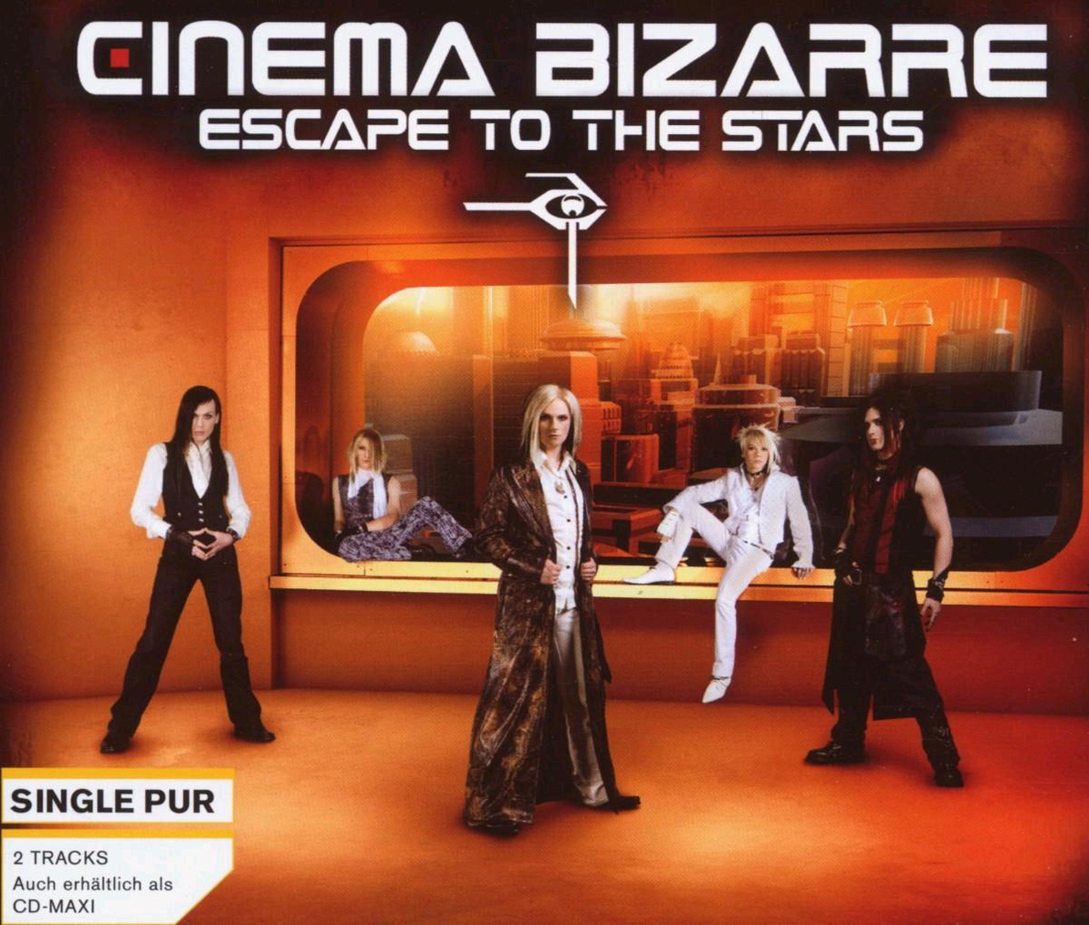 Cinema Bizarre - Escape to the Stars (2-Track)