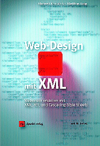 Web-Design mit XML - Manfred Knobloch