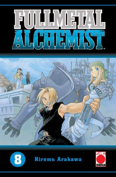 Fullmetal Alchemist 08: BD 8 - Hiromu Arakawa