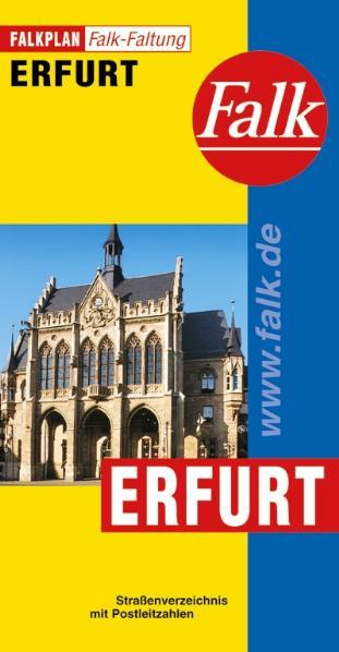 Falkplan Falk-Faltung Erfurt