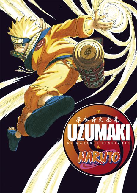 Naruto: Uzumaki: Artbook 1: Comics - Masashi Kishimoto