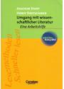 Umgang mit wissenschaftlicher Literatur: Eine Arbeitshilfe für das sozial- und geisteswissenschaftliche Studium - Joachim Stary [Taschenbuch, 2. Auflage 2000]