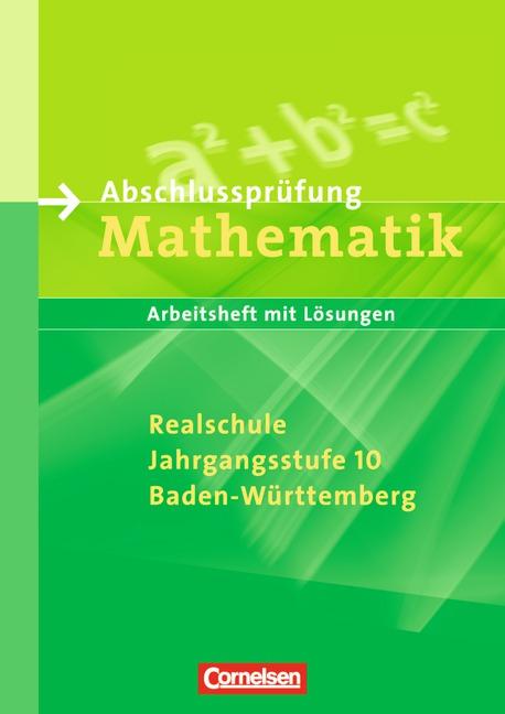 Abschlussprüfung Mathematik - Sekundarstufe I -...
