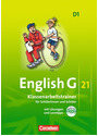 English G 21 - Ausgabe D: 5. Schuljahr - Klassenarbeitstrainer mit Lösungen - Hellmut Schwarz [Buch mit CD]