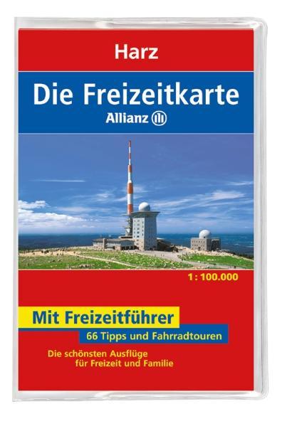 Die Allianz Freizeitkarte Harz 1:100 000 - Mair...