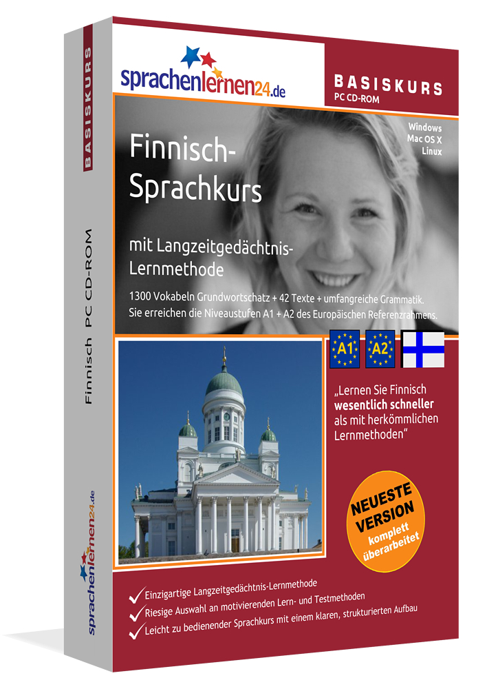 Sprachenlernen24.de Finnisch-Basis-Sprachkurs C...