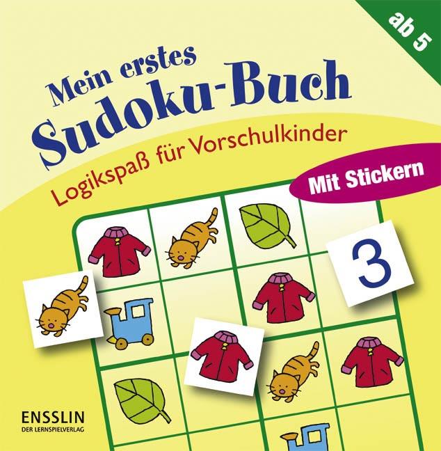 Logikspaß für Vorschulkinder. Mein erstes Sudok...