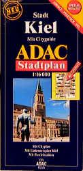 ADAC Stadtpläne, spezialgefaltet, Kiel: Mit Cit...