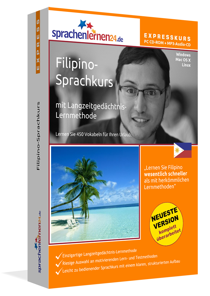 Sprachenlernen24.de Filipino-Express-Sprachkurs...