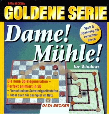 Goldene Serie. 3D- Dame. Mühle. CD- ROM für Windows 3.x/95 - Bernhard Foltz