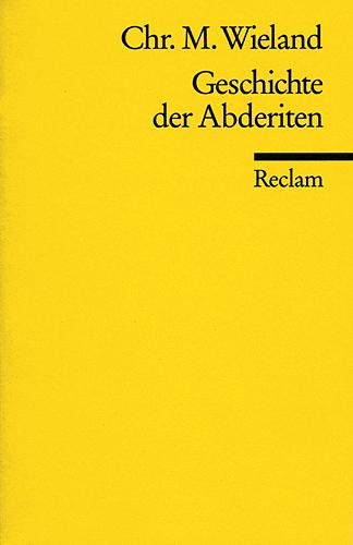 Geschichte der Abderiten - Christoph Martin Wieland