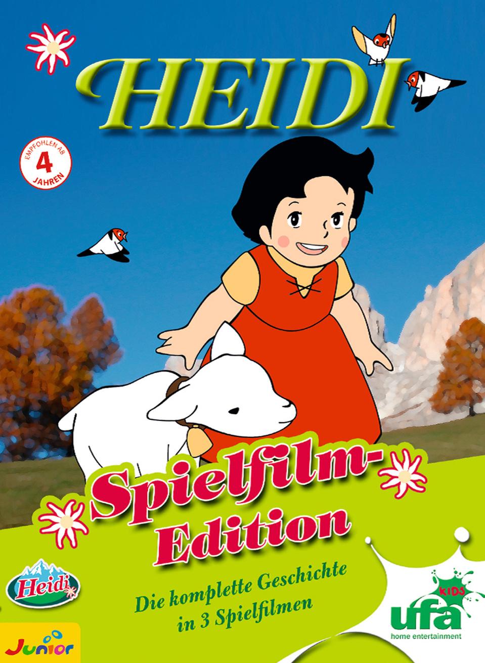 Heidi - Spielfilm-Box