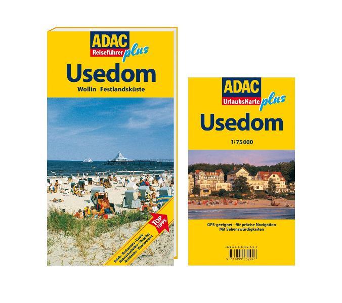 ADAC Reiseführer plus Usedom: Wollin. Festlands...