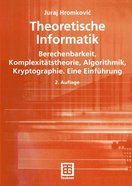 Theoretische Informatik - Juraj Hromkovic