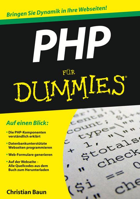 PHP für Dummies (Fur Dummies) - Christian Baun