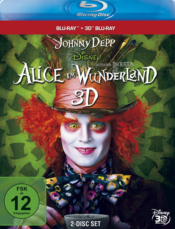 Alice im Wunderland 3D [inkl.2D Version, 2 Discs]