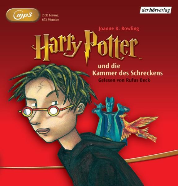 Harry Potter 2 und die Kammer des Schreckens - Joanne K. Rowling [MP3 Audio]