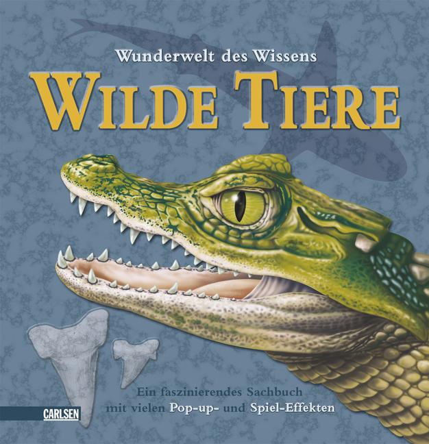 Pop-up-Bücher: Wunderwelt des Wissens - Wilde T...