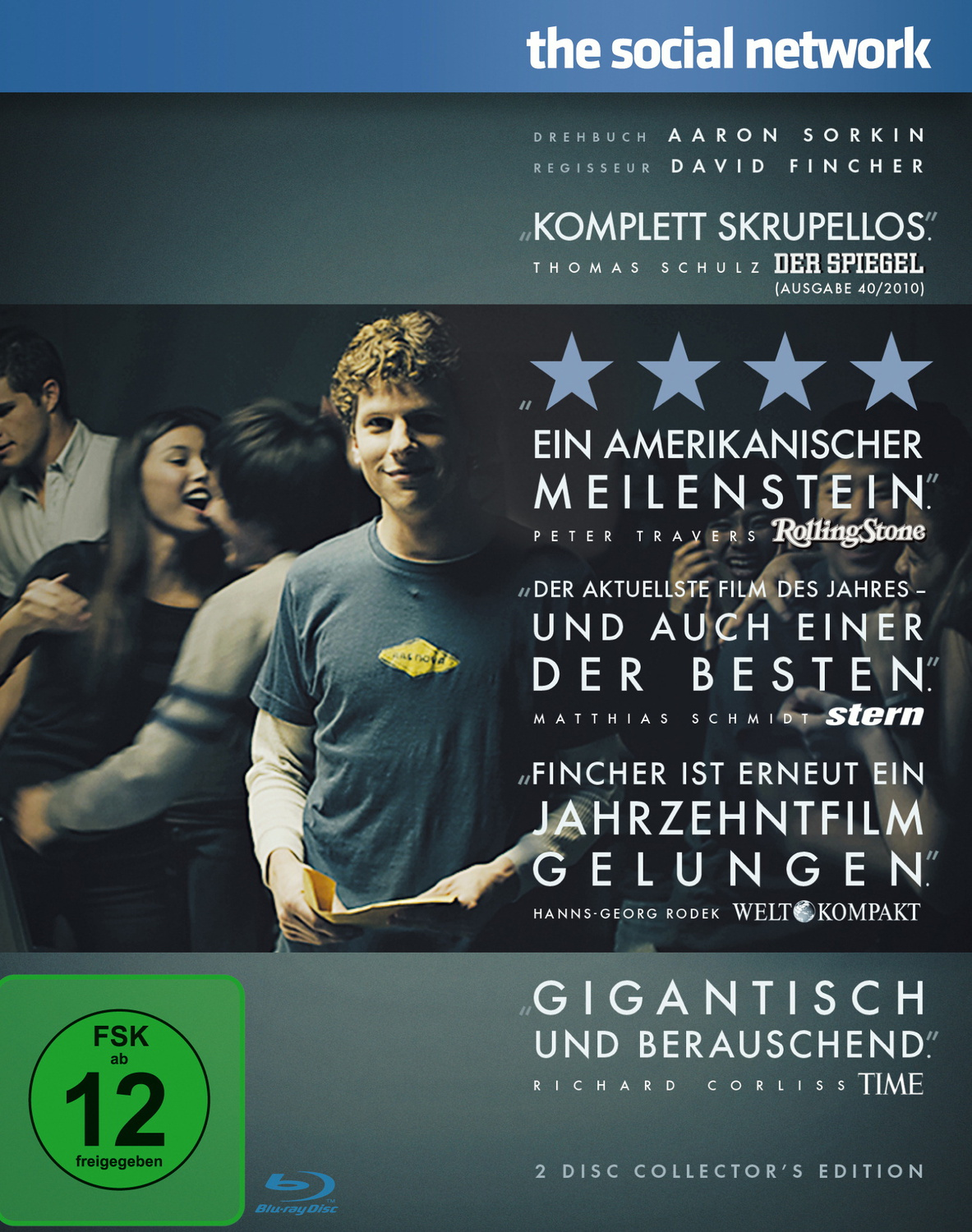 The Social Network [Collector´s Edition, 2 Discs]